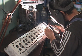 Image result for TIG WELDING CYLINDER HEAD